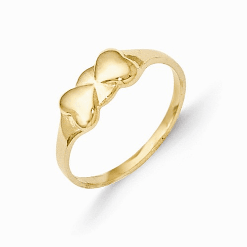 14k Madi K Heart Baby Ring Se2386