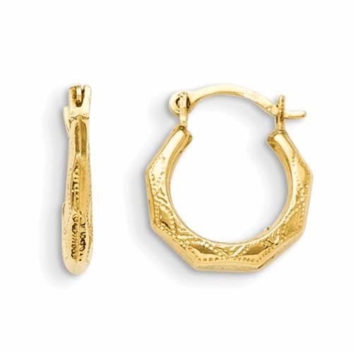 14k Madi K Hinged Earrings Gk536