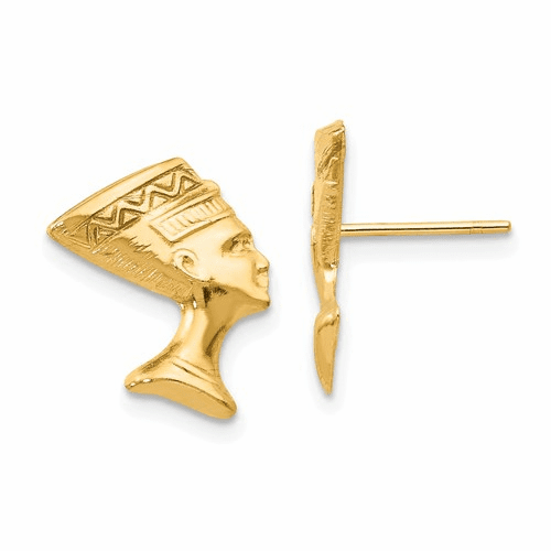 14k Madi K Nefertiti Post Earrings Se2197