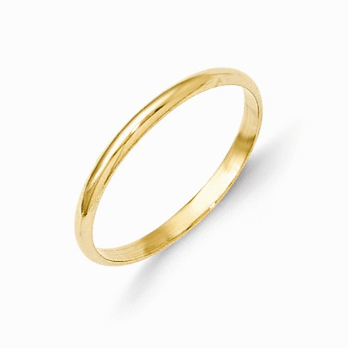 14k Madi K Polished Baby Ring Gk287
