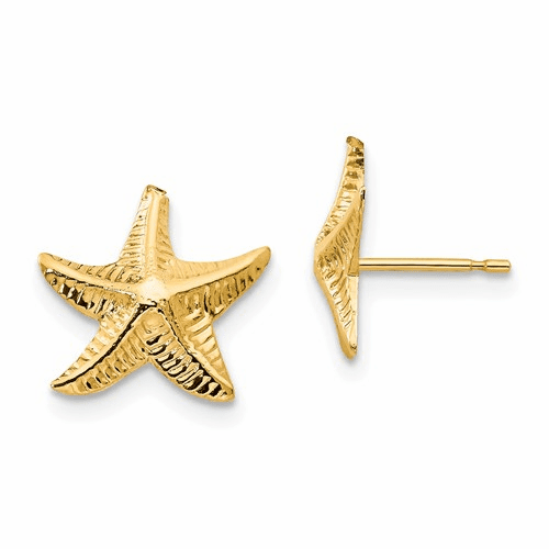 14k Madi K Starfish Post Earrings Se2059