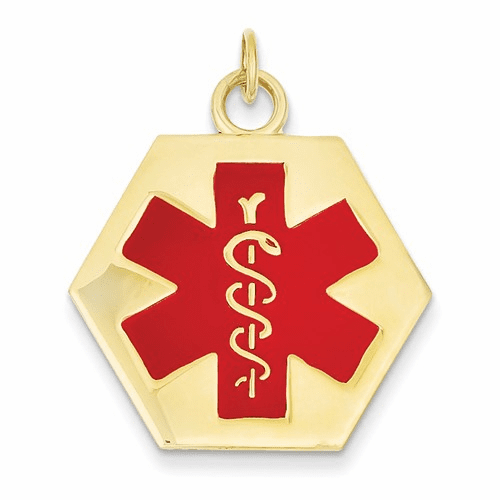 14k Medical Jewelry Pendant Xm30
