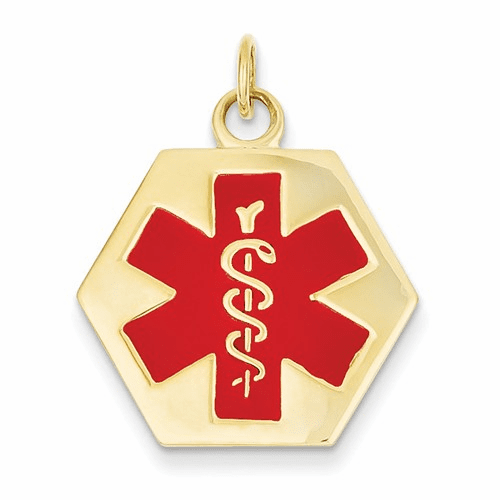 14k Medical Jewelry Pendant Xm31