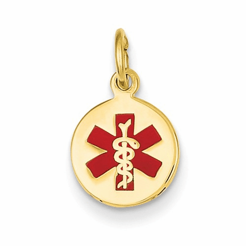 14k Medical Jewelry Pendant Xm406