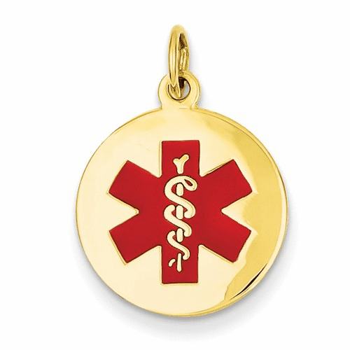 14k Medical Jewelry Pendant Xm407