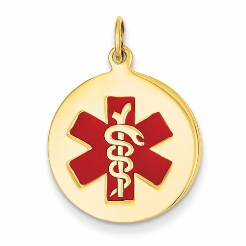 14k Medical Jewelry Pendant Xm408