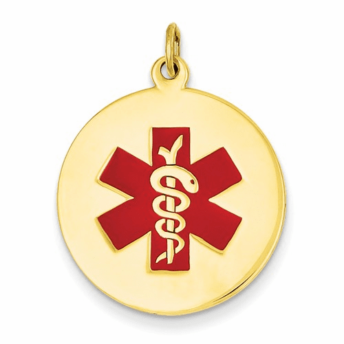 14k Medical Jewelry Pendant Xm409