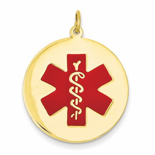 14k Medical Jewelry Pendant Xm410