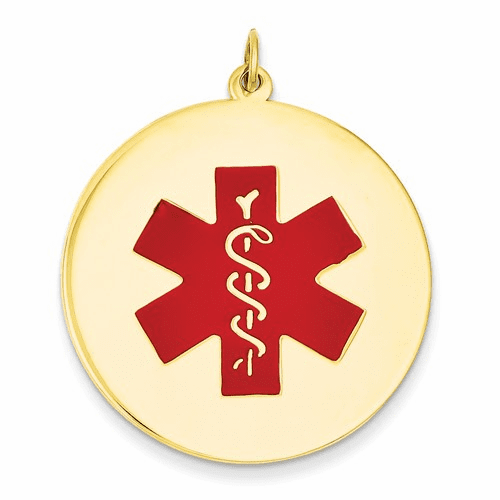 14k Medical Jewelry Pendant Xm411