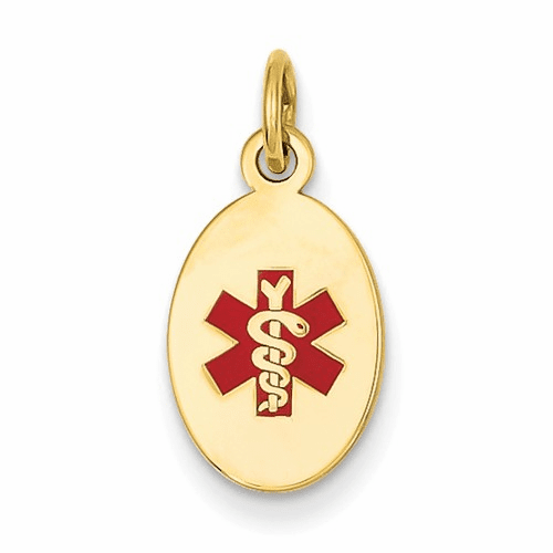 14k Medical Jewelry Pendant Xm413