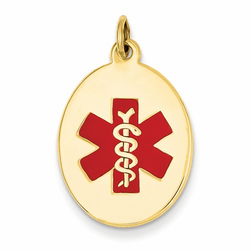 14k Medical Jewelry Pendant Xm414