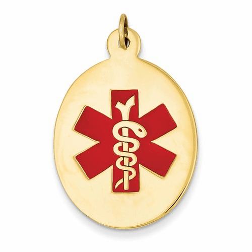 14k Medical Jewelry Pendant Xm415