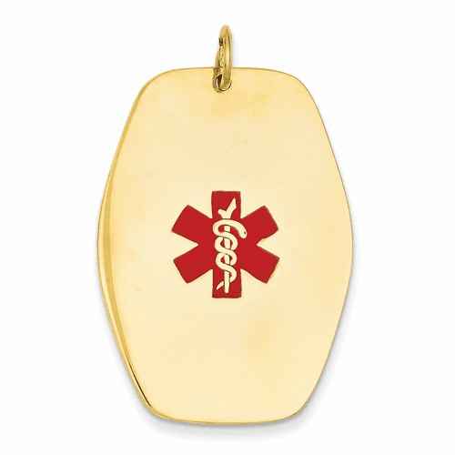 14k Medical Jewelry Pendant Xm417