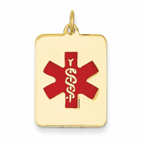 14k Medical Jewelry Pendant Xm55
