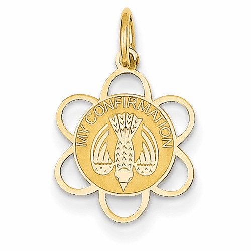 14k My Confirmation Charm Xac722