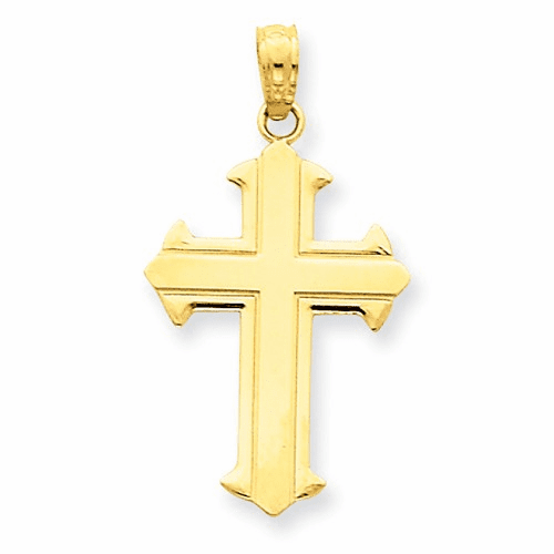 14k Passion Cross Pendant D3521