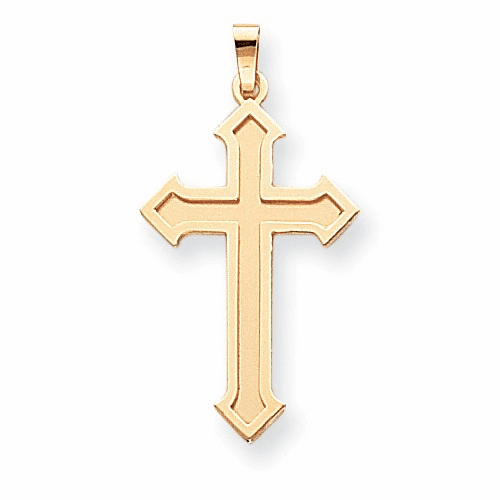 14k Passion Cross Pendant Xk601