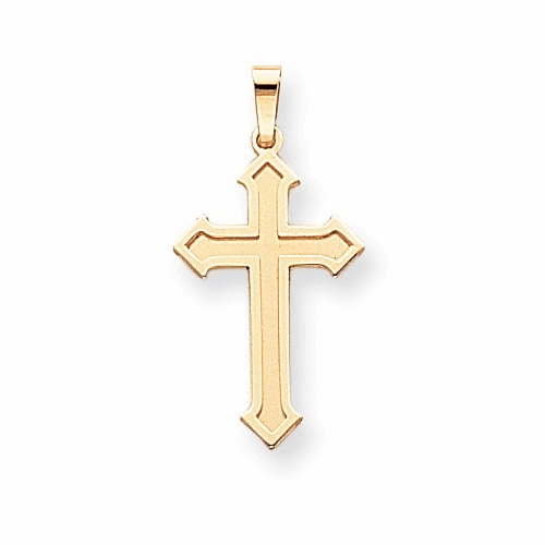 14k Passion Cross Pendant Xk609