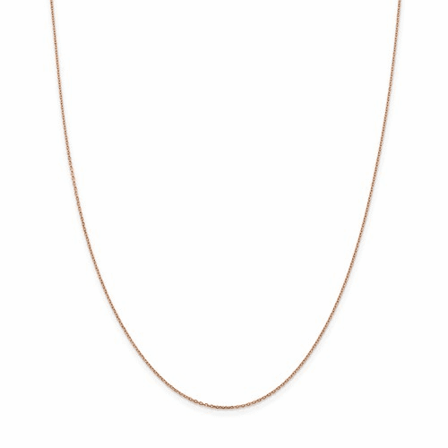 14K Rose Gold Necklace Chains
