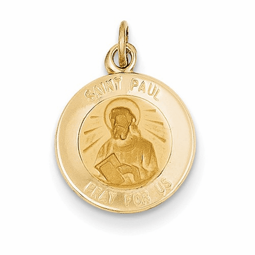 14k Saint Paul Medal Charm Xr631
