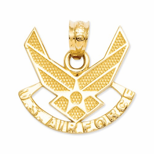 14k U. S. Air Force Pendant C1802