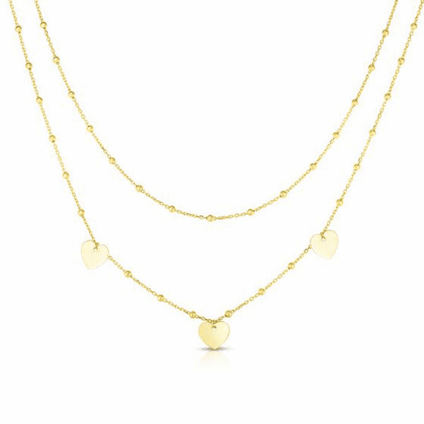 """14kt Gold 18"""" Yellow Finish Necklace with Lobster Clasp - RC1954"""