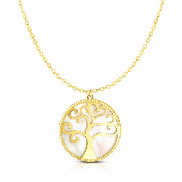 """14kt Gold 18"""" Yellow Finish Necklace with Lobster Clasp - RC1960"""