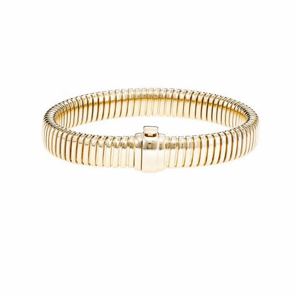 "14kt Gold 7.5"" Yellow Finish Bracelet"