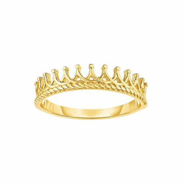 14kt Size-7 Yellow Gold Ring - R1683