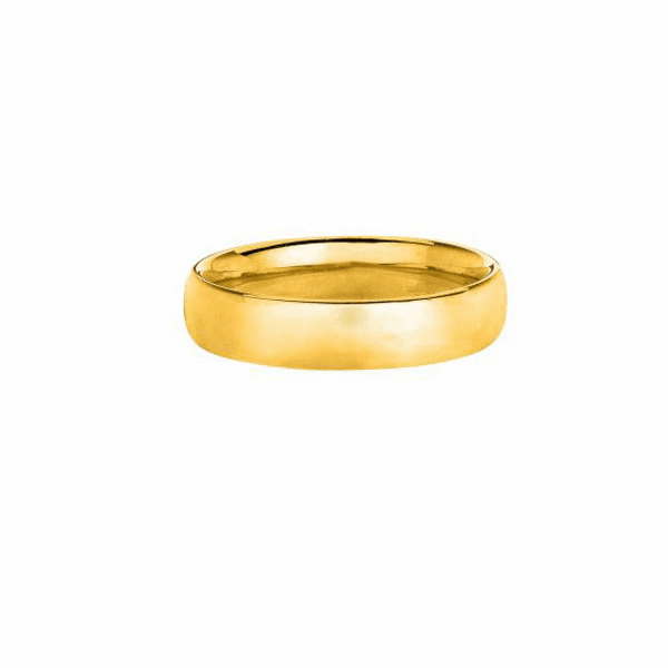 14kt Yellow Gold 8mm Wedding Band