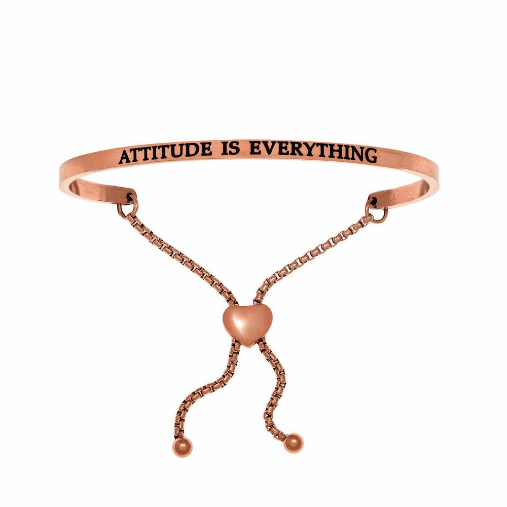 Attitude is Everything Bracelet - Stainless Steel