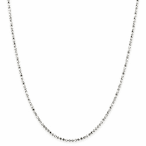Ball (Beaded) Chain Rope Chain Necklacess