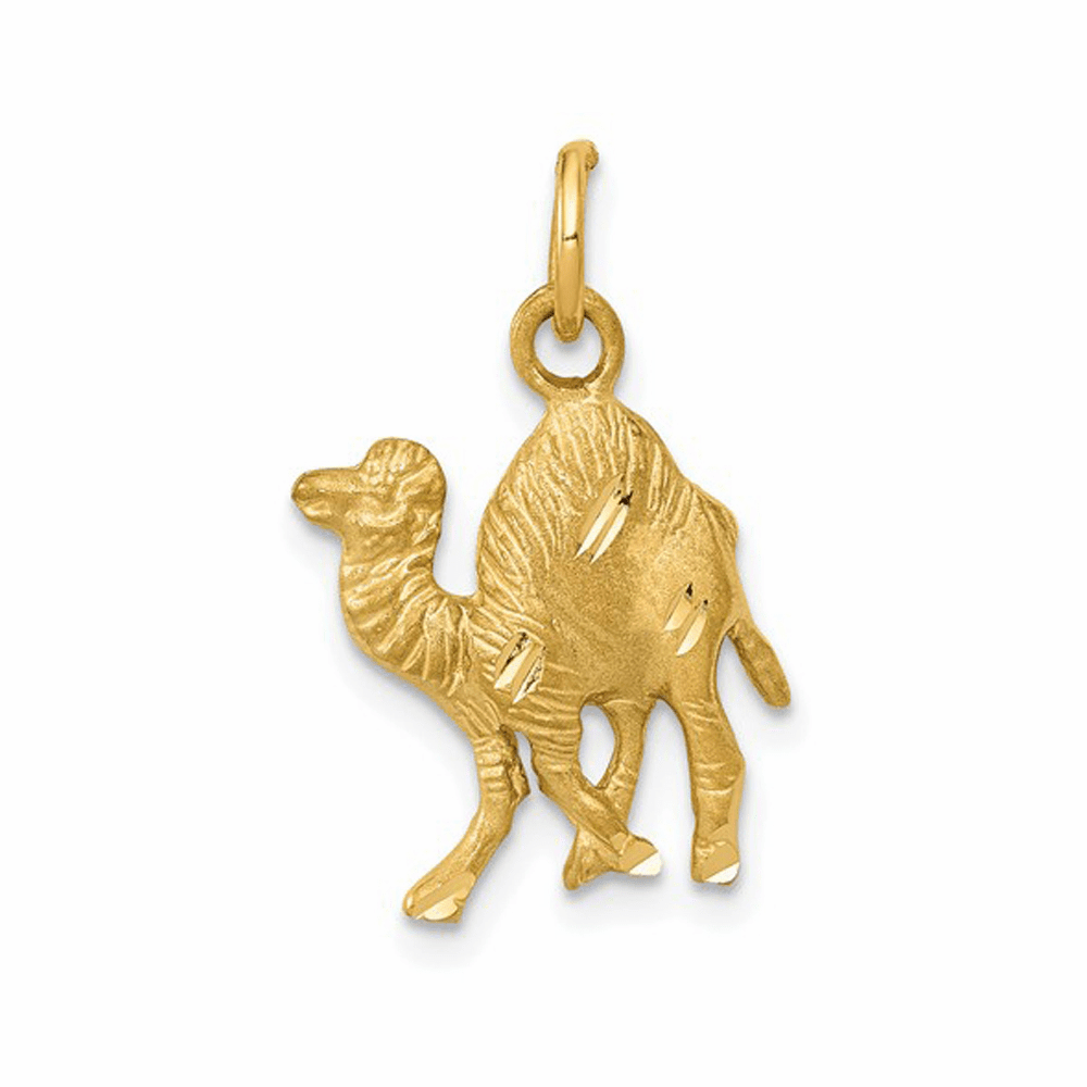 Camel Charm - 14K Yellow Gold
