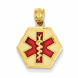 Core Gold Medical Jewelry Pendants