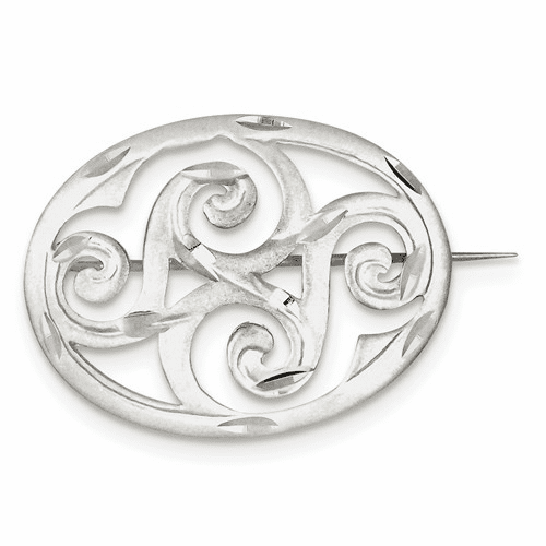 Core Sterling Silver Jewelry Pins