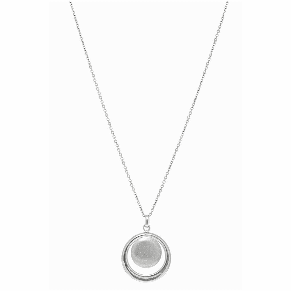 Diamond Cut Classic Cable Chain Necklace - Sterling Silver 18 Inch