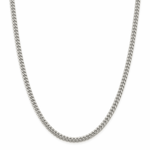 Domed Curb Chain Necklaces
