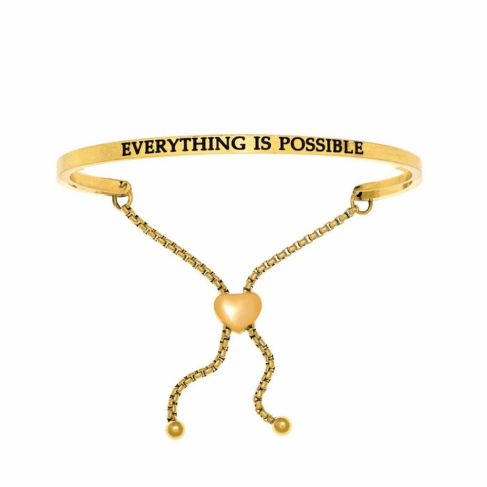 Everything is Possible Friendship Bracelet - Stainless Steel