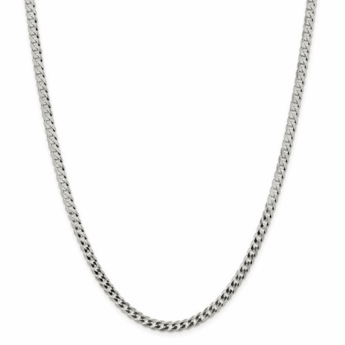 Flat Link Curb Chain Necklaces