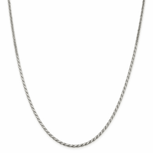 Flat Rope Chain Necklaces