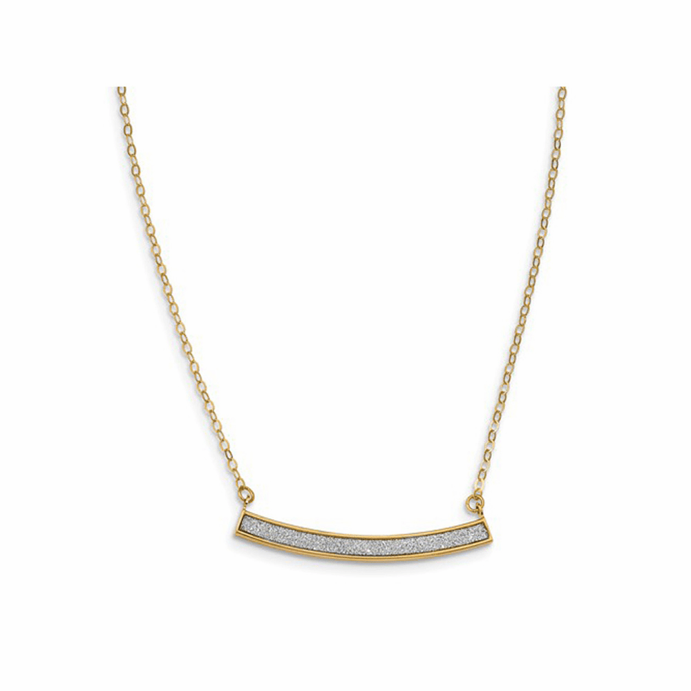 Leslie's Glimmer Infused Extension Necklace - 14K Yellow Gold 18 Inch