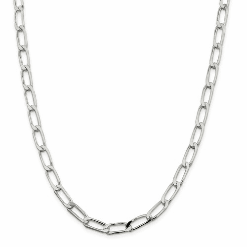 Long Curb Chain Necklaces