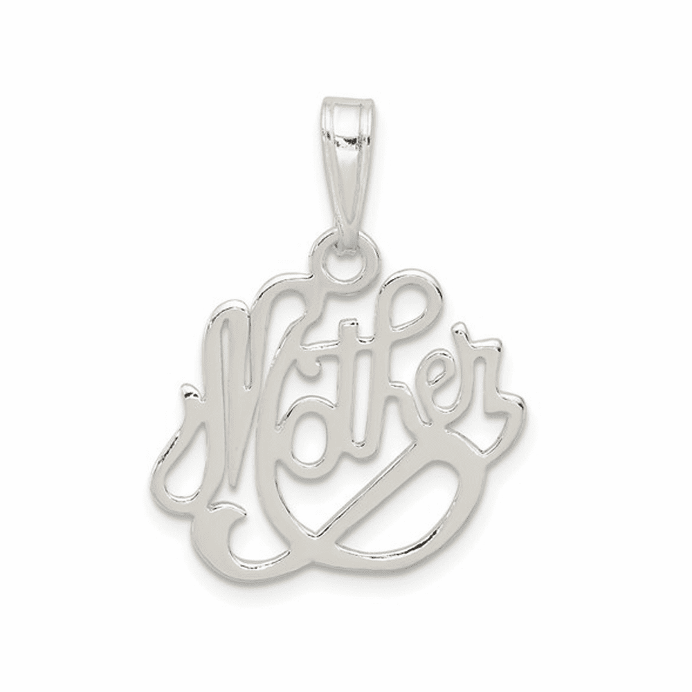 Mother Pendant - Sterling Silver