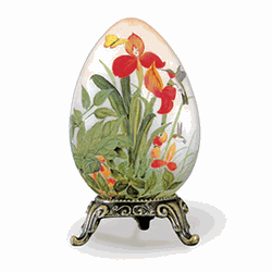 Nectar Footed Jewelry Egg