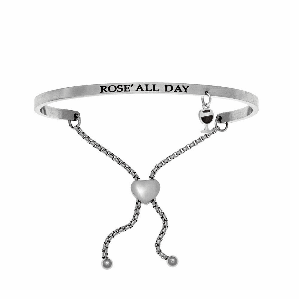 Rose' All Day Adjustment Bangle - Stainless Steel