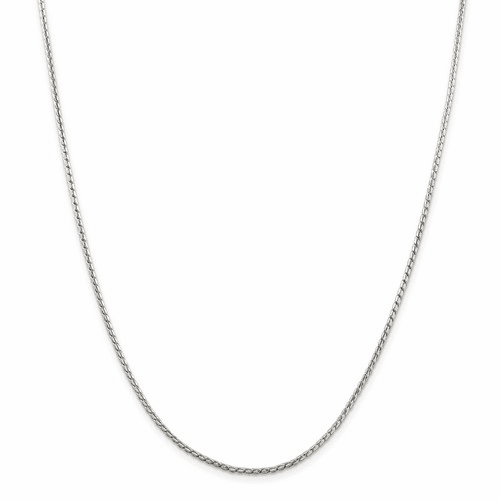 Round Franco Chain Necklaces