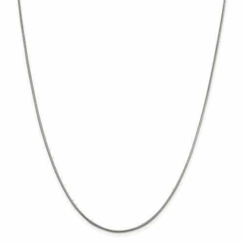 Round Snake Chain Necklaces