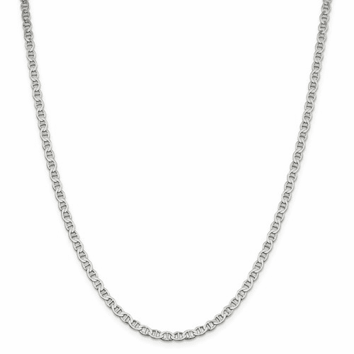 Semi Solid Anchor Chain Necklaces