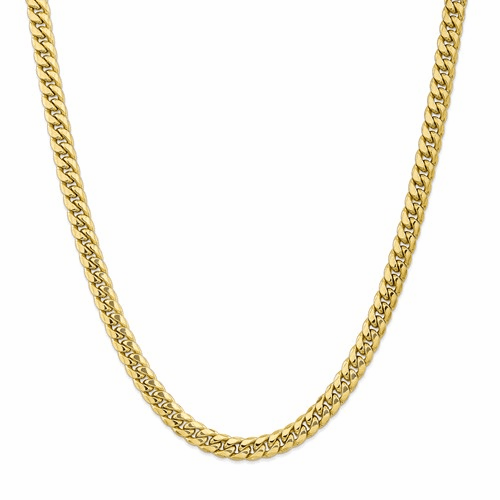 Semi Solid Miami Cuban Chain