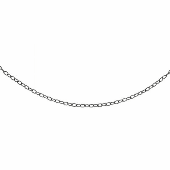 Silver Italian Cable Adjastable Link Chain